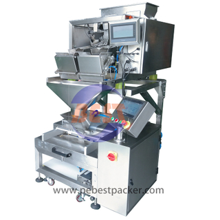 Versatile Polyolefin film Tubular bag forming machine + linear weigher