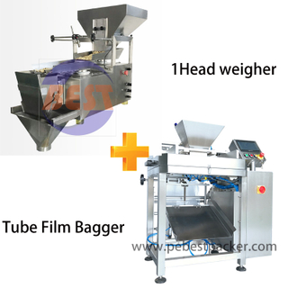 Leaf Tea Herbs Packing machine with Single Head Weigher