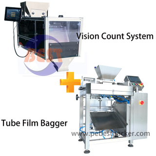 Pharmacy Tablets Pills Capsule counting and filling Packing line
