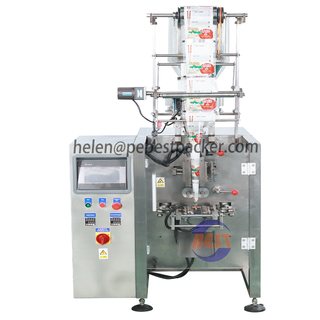 Automatic 2-100 grams sugar Salt sachet stick packing machine 3 sides