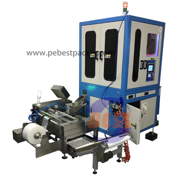 Optical Inspect Sorting System with PE bagging machine for screws